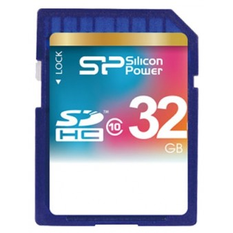 SD 32Gb Silicon Power  Class 10