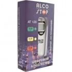 Алкотестер AT-128 портативный (0,00-2,00 промилле) LCD-дисплей с подсветкой 3V ALCO STOP /1/100 HIT