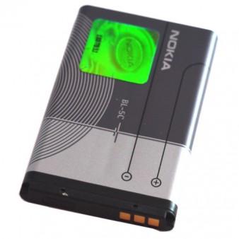 АКБ ОРИГИНАЛ Nokia BL-5C 1100/2610/6030/6230/6270/6630/6670/6680/7610/E60/N70/N71/N72/N91