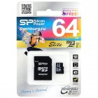 Micro SD 64gb SiliconPower